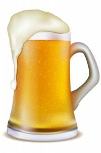 pompe à bière pneumatique